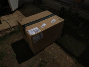 Bosch AQT 37-23+ Test - Verpackung Amazon